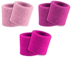 Pink Wristbands - Sweatbands by Twin City