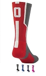 Number Crew Socks by Twin City - Player ID  (Sold Individually)