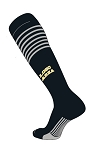 Custom Stripe Logo Knee High Socks by Twin City  (Style 02)