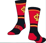 Jersey Crew Sock  with Logo by Twin City