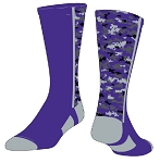 Custom Color Camo Crew Socks by Twin City