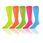 Knee High Socks by Twin City - Nylon Neon Colors
