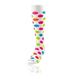 Twin City Neon Polka dot Knee High Socks