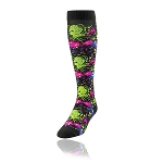 Twin City Paint Splatter Knee High Socks