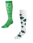 Twin City Shamrock Knee High Socks