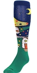 Twin City Mushroom Village Knee High Socks