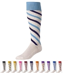 Candy Stripe Knee High Socks by Twin City