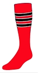 Custom Stripe Knee High Socks by Twin City (Style D)