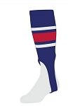 Baseball Stirrups with Stripes from Twin City - Style E
