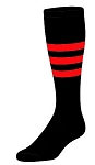 Custom Stripe Knee High Socks by Twin City (Style B)