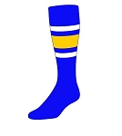Custom Stripe Knee High Socks by Twin City (Style E)