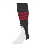 Custom Baseball Stirrups Striped by Twin City - Style B
