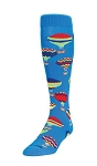 Hot Air Balloons Knee High Socks by Twin City
