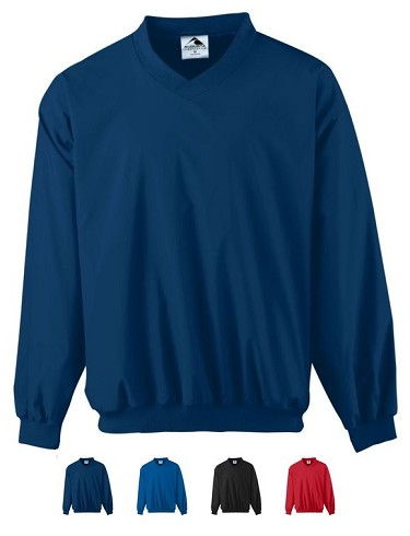 Pullover Micro Poly Windshirt/Lined and Water resistant by Augusta