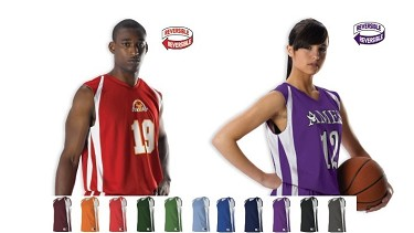 Reversible Basketball Jerseys by Alleson Double Ply (54MMRJ)