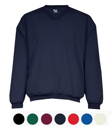 Pullover by Badger Sport by Microfiber Windshirt