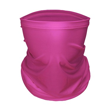 Pink Gaiter Face Masks Adult/Youth  by Champro Solid