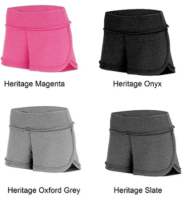 Augusta Ladies French Terry Shorts Closeout