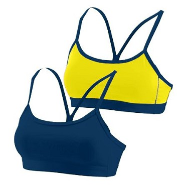 Augusta Ladies Encore Reversible Sports Bra-CLOSEOUT
