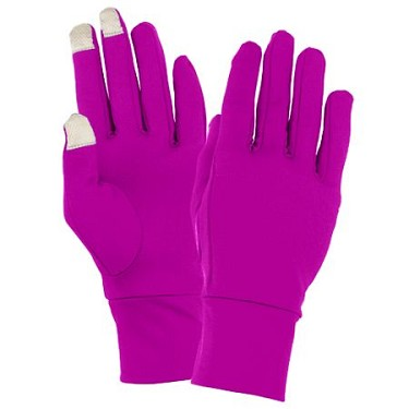 Pink Tech Gloves by Augusta