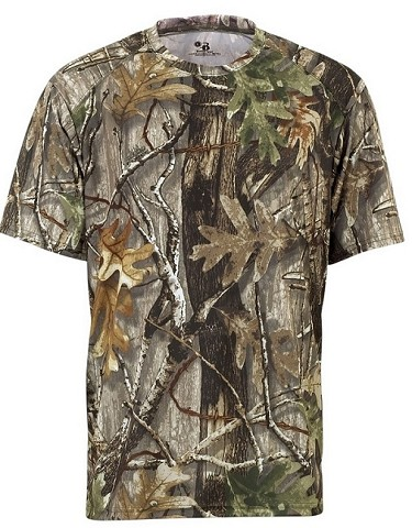 Badger B-Core Force Camo Short Sleeve Tee Closeout