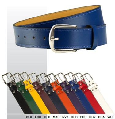 Baseball/Softball Leather Belts by Champro