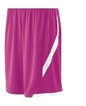Holloway Pink Lateral Basketball Shorts Closeout