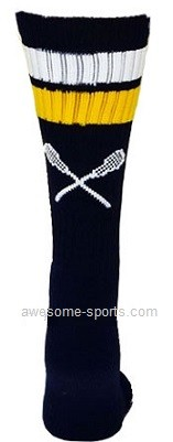 Custom Elite Crew Socks by Pearsox - Lacrosse  (PCLAC2)
