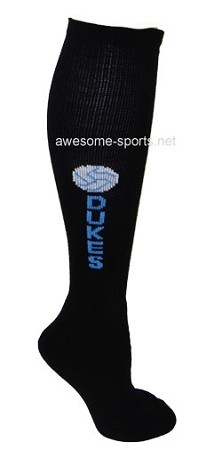 Volleyball Custom Knee High Socks by Pearsox  (#2016TV)