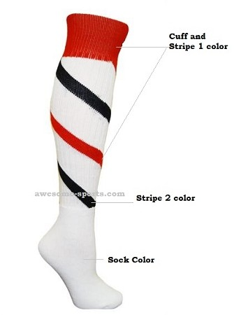 Tornado Custom Tube Socks (2002S) by Pearsox