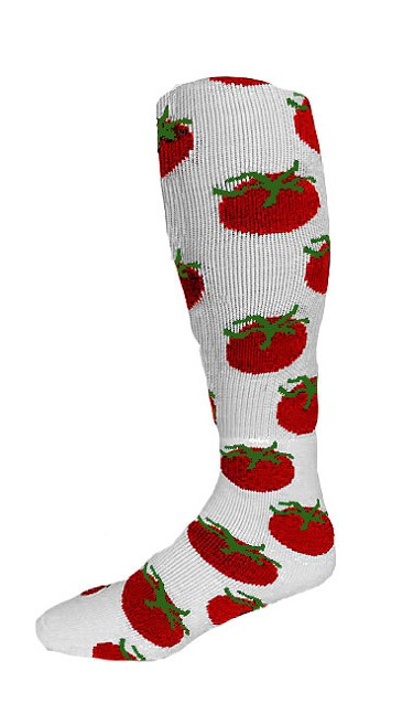 Custom Knee High Socks by Pearsox - Tomato (3303TSC)