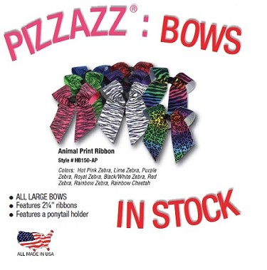Hair Bows by Pizzazz - Animal Print