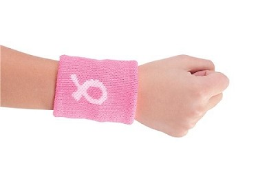 Pizzazz Breast Cancer Awareness Pink Wrist Bands