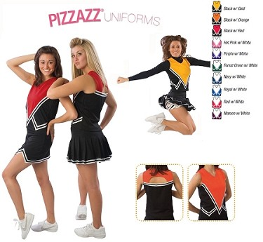 Cheerleading Uniform Shell by Pizzazz - Intensity