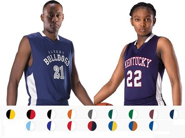 Reversible Basketball Jerseys by Alleson Single Ply Men, Youth, Ladies