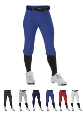 Softball Pants by Alleson - Knicker  #605PKNW