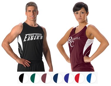 Track Singlets by Alleson - Elite Loose Fit