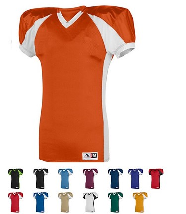 Football Jersey by Augusta Snap Closeout