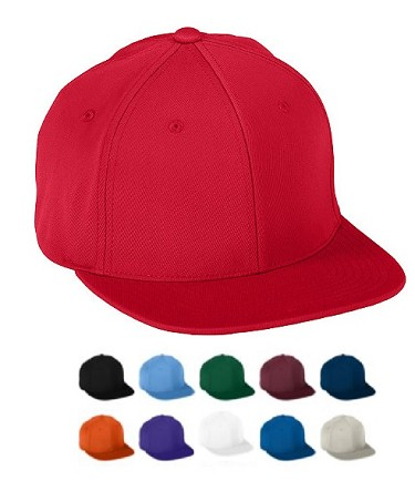 Baseball Caps by Augusta - Flexfit Flat Bill