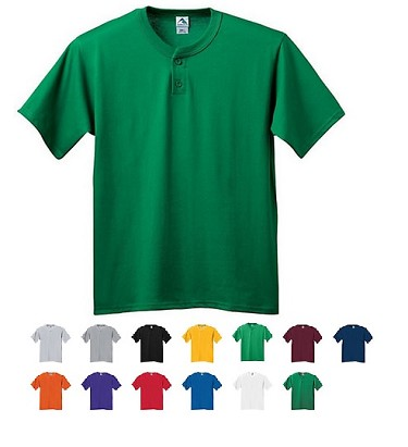 Augusta 6 Ounce Two Button Jersey  Closeout