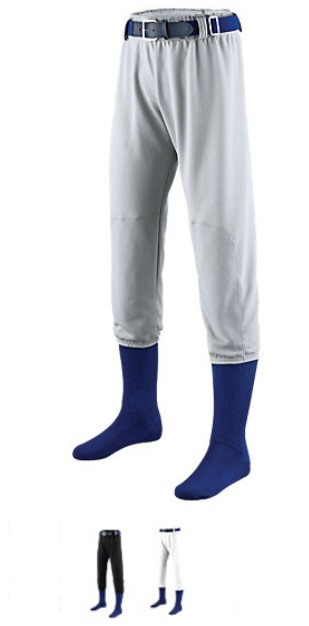 Augusta Pro Pull Up Baseball/Softball Pants with Belt loops Closout