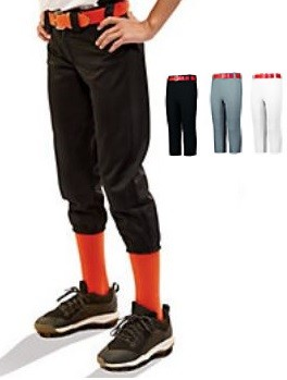 Pull Up Baseball/Softball Pants w/Belt Loops by Augusta
