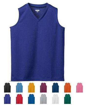 Augusta Ladies & Girls Wicking Mesh Sleeveless Jersey Closeout