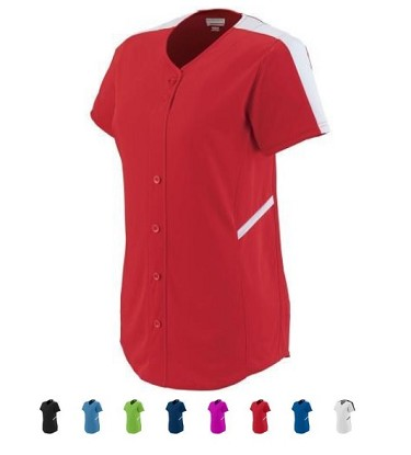Augusta Ladies Closer Softball Jersey-CLOSEOUT
