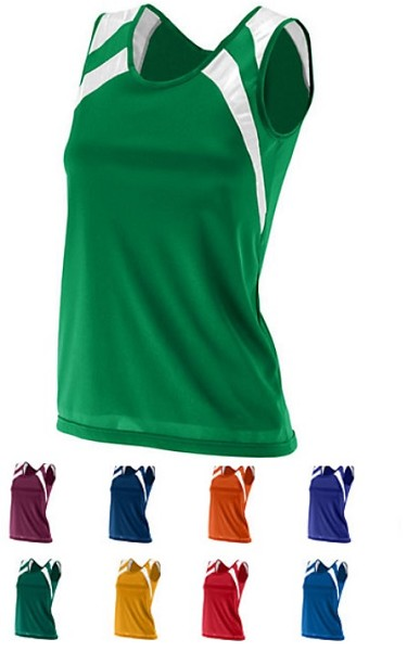 Augusta Wicking Track and Field Tank Ladies Closeout