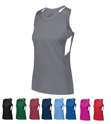 Racerback Tanks for Ladies/Girls' by Augusta Ladies -  Crossover