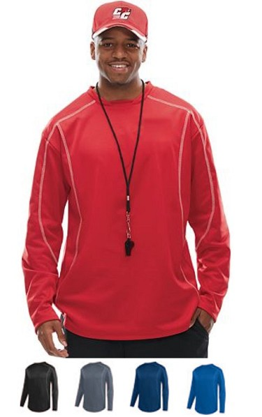Pullover Long Sleeve Shirt by Augusta Edge