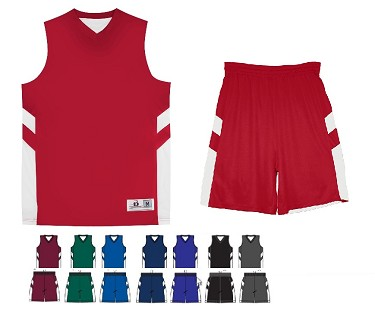 Reversible Basketball Uniforms Jersey and Short by Alleson - B-Pivot