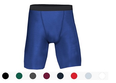 Badger Solid Color Compression Shorts