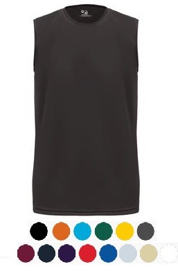 Sleeveless Tee by Badger Sport - B-Core